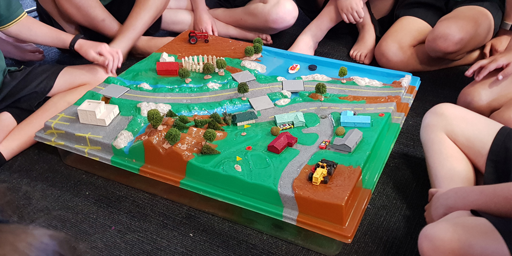 Enviroscapes session at Parkland School