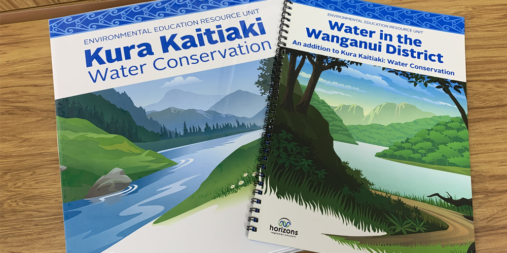 Kura Kaitiaki Water Conservation resources.